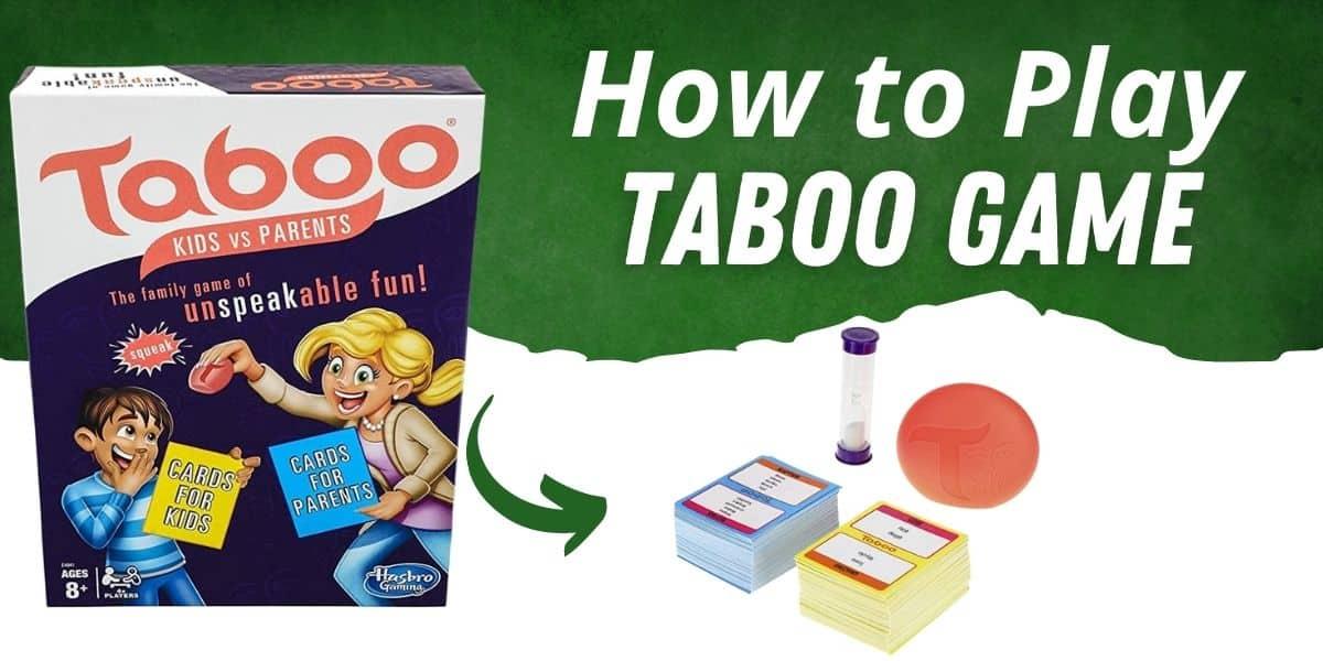 taboo game rules