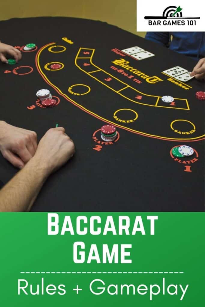 The Baccarat Card Game Rules and Gameplay