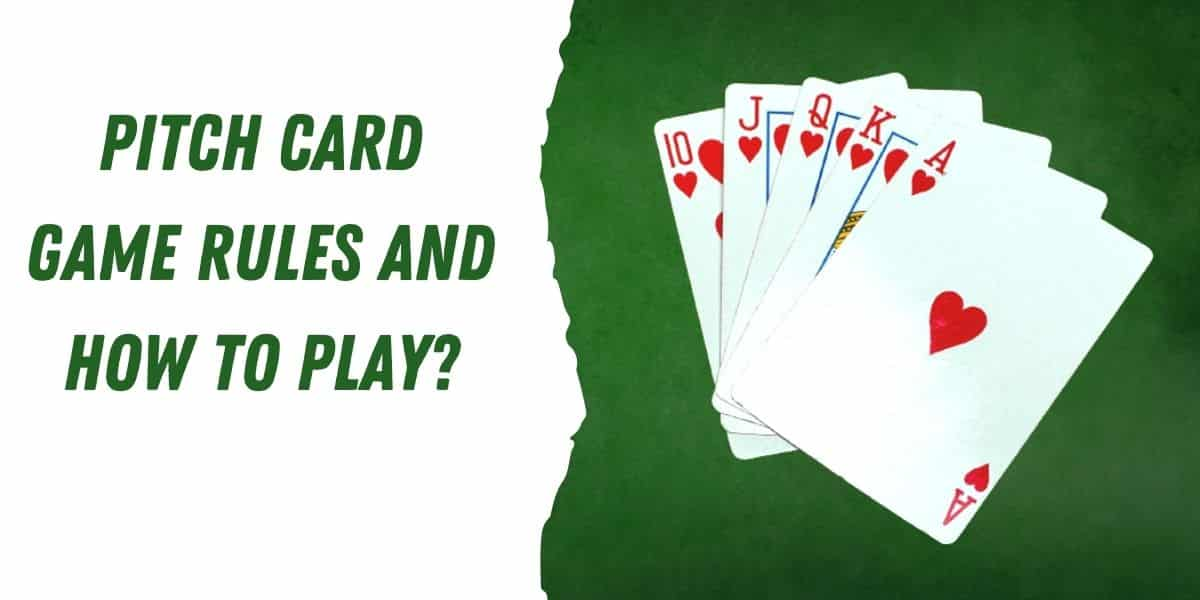 pitch card game rules